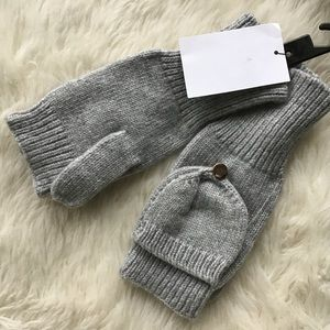 H&M Accessories - NWT H&M Gray Gloves